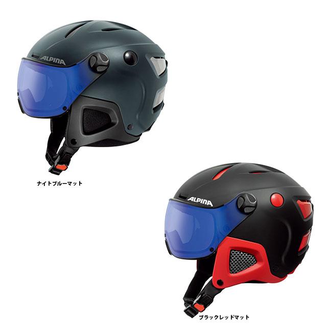 19-20 ALPINA アルピナ ATTELAS VISOR VHM アテラスバイザー VHM A9091 ヘルメット スキー スノーボード 調光レンズ 非常にユニークなサイズ調整システムERGO3(特許取得)を搭載*