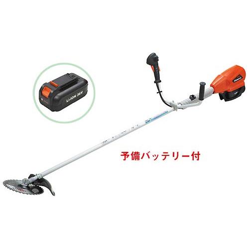 共立刈払機 BSR240U-2B Uハンドル バッテリー式 刈払い機/草刈機/草刈り機/芝刈機/芝刈り機/KIORITZ/やまびこ