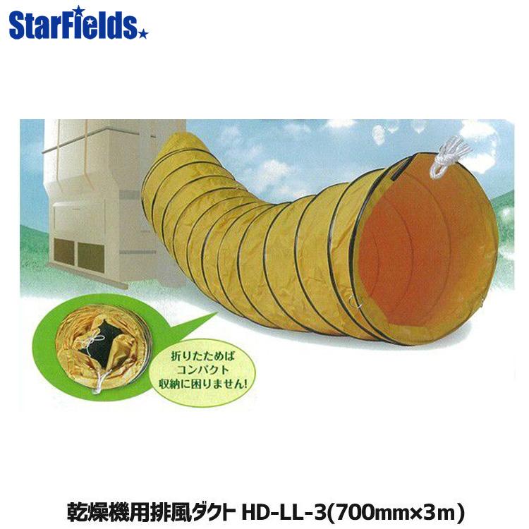 乾燥機用 排風ダクト 価格 交渉 送料無料 集塵機 ダクト メーカー直送 代引不可 HD-LL-3 セールSALE%OFF Φ700mm×3m