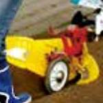 クボタ耕運機TMC200/TMS30用 ニューイエロー培土機(尾輪付)A[91223-40410] kubota耕耘機/アタッチメント/耕運機/耕うん機/家庭菜園/畝立て/送料無料