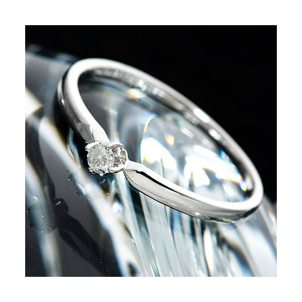 K18ダイヤリング 指輪 9号