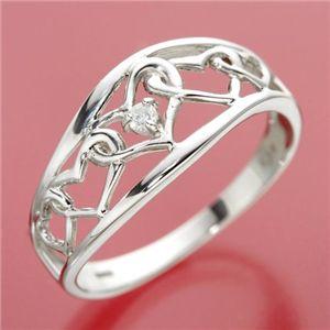 【エントリーで更にポイント10倍】ダイヤリング 指輪 アンティーク調リング 11号