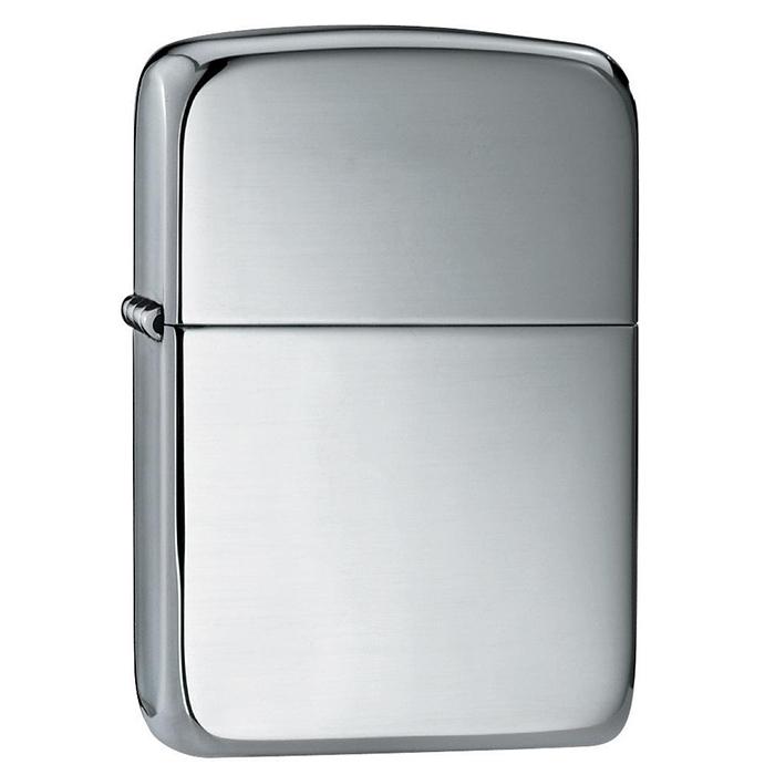 ZIPPO ライター 純銀製 #23 1941復刻版レプリカ 鏡面ポリッシュ ツヤ有り加工 スターリングシルバー925 (銀無垢 ジッポライター)