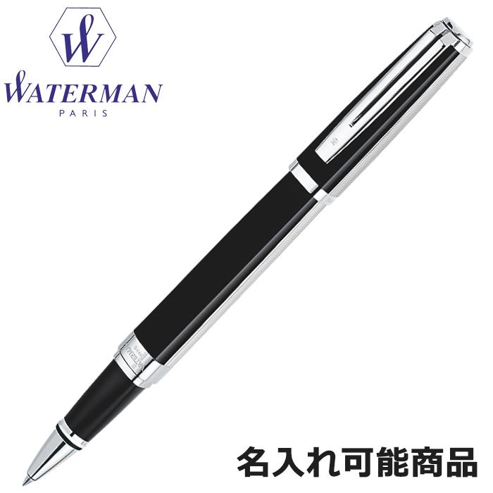 ウォーターマン ボールペン エクセプション ナイト&デイ プラチナ ST BP 黒&銀 S2223362 (筆記具・名入れ可)【楽ギフ_名入れ】