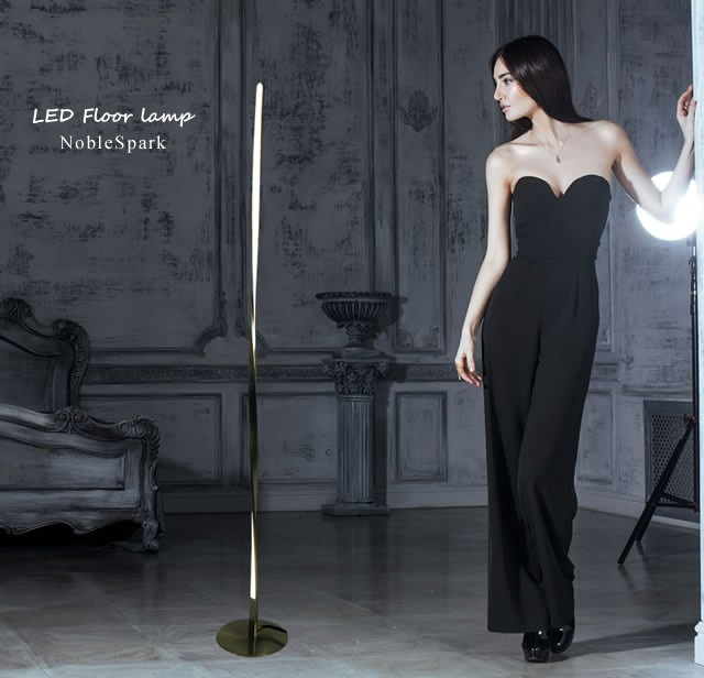 【送料無料】 ノーブルスパーク LEDスタンドライト フロアスタンド スタンドライト フロアランプ デザインランプ PSK001L 人気