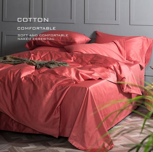 高級長綿布団カバー 4点セット ダブルサイズ Flora8 (寝具/寝具カバー/ベッドリネン/ベッドカバー/シーツ/掛け布団カバー/布団カバー/ボックスシーツ)