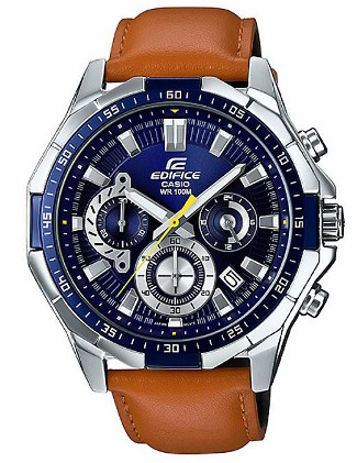 CASIO EDIFICE EFR-554L-2A カシオ エディフィス クロノグラフ メンズ ウォッチ【送料無料】【代引手数料無料】【ベルト調整無料】