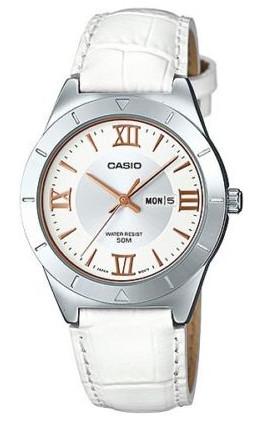 CASIO LTP-1410L-7A1 カシオ 逆輸入 海外モデル レディース ウォッチ 腕時計 レザーベルト 【送料無料】