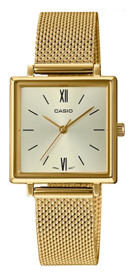 CASIO LTP-E155MG-9 カシオ 逆輸入 レディース ウォッチ 腕時計 レトロ クラッシック ゴールド【送料無料】