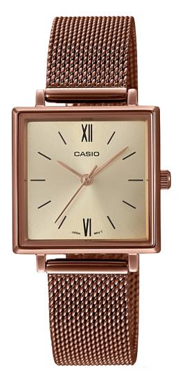 CASIO LTP-E155MR-9 カシオ 逆輸入 レディース ウォッチ 腕時計 レトロ クラッシック ローズゴールド【送料無料】