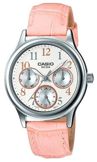 Casio LTP-E306L-4B 逆輸入 カシオ ウォッチ レディース 女性用 デイデイトカレンダー 【送料無料】【smtb-KD】