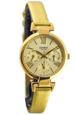 CASIO LTP-E404GL-9 カシオ 逆輸入 レディース ウォッチ 腕時計 ゴールド【送料無料】