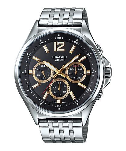 Casio MTP-E303D-1A 逆輸入 カシオ ウォッチ メンズ 時計 腕時計 マルチカレンダー【送料無料】【ベルト調整無料】【smtb-KD】