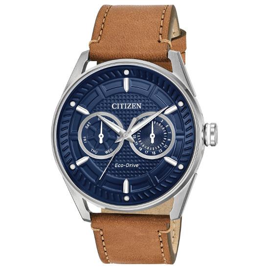 シチズン エコドライブ 逆輸入 メンズ 腕時計 デイデイトカレンダー レザーベルト CITIZEN BU4020-01L【送料無料】【日本未発売】【smtb-KD】