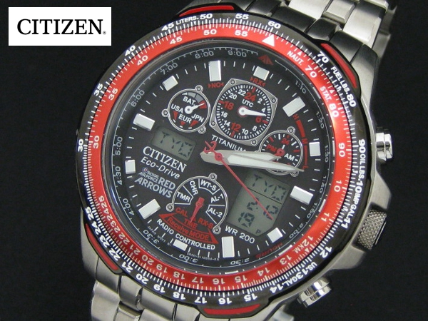 titanium citizen deals off a shop watch t digital analog drive skyhawk hot mens s watches men eco bracelet