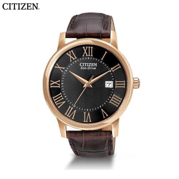 日本未発売 シチズン エコドライブ メンズ ウォッチ 時計 ブラック ローズゴールド CITIZEN BM6759-03E