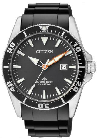 CITIZEN BN0100-42E シチズン 逆輸入 エコドライブ ダイバー ウォッチ 時計 ラバーベルト