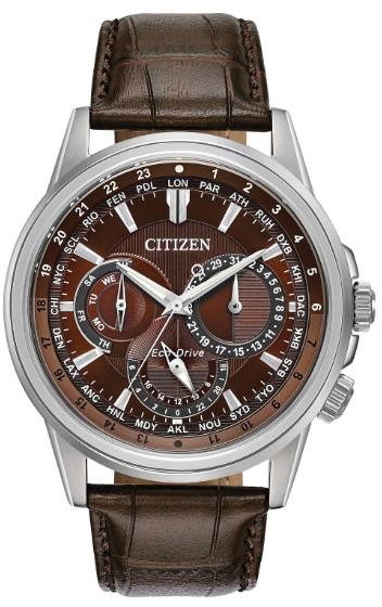 日本未発売 CITIZEN BU2020-29X シチズン 逆輸入 エコドライブ メンズ 腕時計 ウォッチ ブラウン 【送料無料】【代引手数料無料】