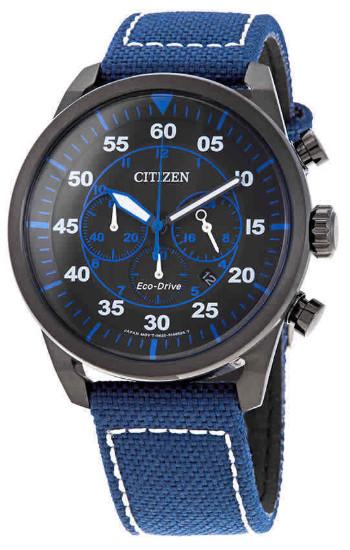 【送料無料】日本未発売 CITIZEN CA4215-39E シチズン 逆輸入 エコドライブ メンズ クロノグラフ ウォッチ 時計 ブルー