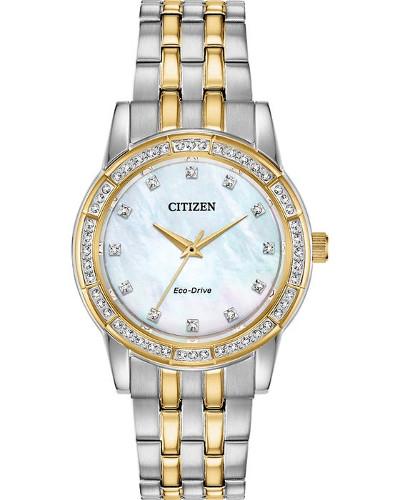 【ベルト調整無料】日本未発売 シチズン 逆輸入 エコドライブ レディース ウォッチ 腕時計 CITIZEN EM0774-51D