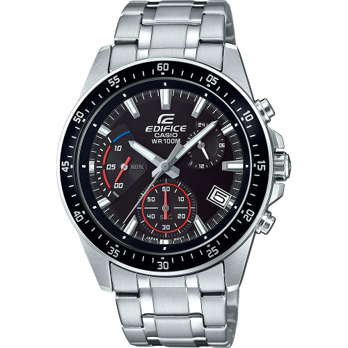 CASIO EDIFICE EFV 540D 1A カシオ エディフィス 腕時計 クロノグラフ 海外モデル送料無料代引手数料無料08mNOnvw