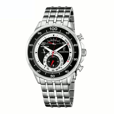 FESTINA F6830/2 フェスティナ スポーツ クロノグラフ メンズ ウォッチ 腕時計 時計 ブラック【送料無料】【ベルト調整無料】【smtb-KD】