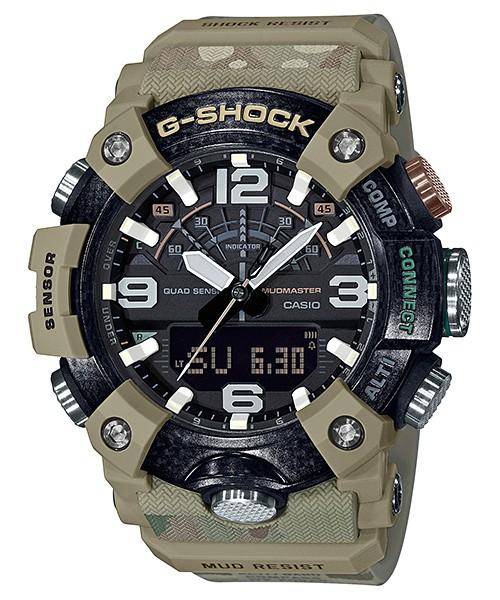 【即納可能】 CASIO G-SHOCK GG-B100BA-1AJR カシオ マッドマスター BRITISH ARMY メンズウォッチ 腕時計 Bluetooth 国内正規品