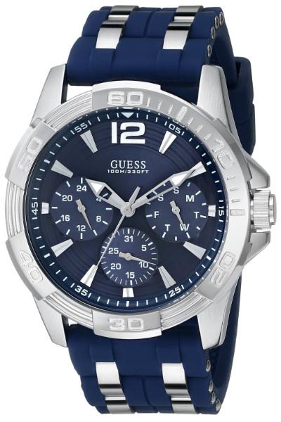 日本未発売 GUESS U0366G2 ゲス マルチファンクション ウォッチ 腕時計 メンズ ブルー【送料無料】