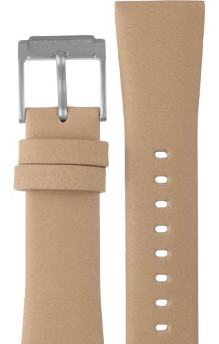 【時計ベルト、バンド】Michael Kors マイケルコース 時計 腕時計 ウォッチ MK2633用 レザーバンド 純正ベルト ストラップ