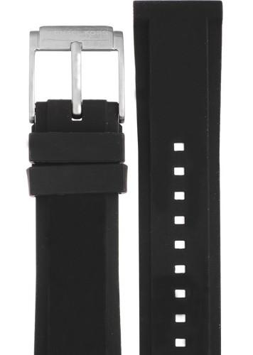 【送料無料】【時計ベルト、バンド】Michael Kors マイケルコース 時計 腕時計 ウォッチ MK8485用 ラバー バンド 純正ベルト ストラップ