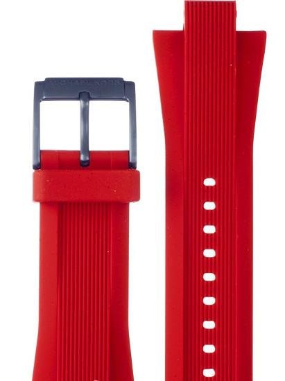 【時計ベルト、バンド】Michael Kors マイケルコース 時計 腕時計 ウォッチ MK8558用 ラバーバンド 純正ベルト ストラップ