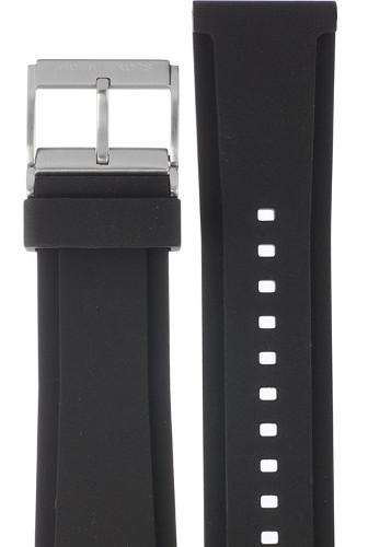 【時計ベルト、バンド】Michael Kors マイケルコース 時計 腕時計 ウォッチ MKT4009用 ラバー バンド 純正ベルト ストラップ