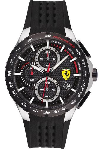 Ferrari 0830732 Pista フェラーリ クロノグラフ 時計 オフィシャル メンズ ウォッチ 【送料無料】【代引手数料無料】