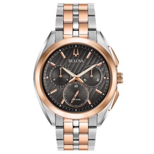 BULOVA 98A160 ブローバ メンズ クロノグラフ ウォッチ 腕時計 時計 ハイパフォーマンスクォーツ【送料無料】【代引手数料無料】