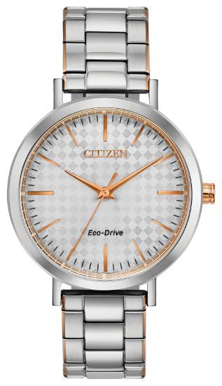 シチズン EM0766-50A 逆輸入 エコドライブ レディース ウォッチ 腕時計 時計 CITIZEN ECO-DRIVE【送料無料】【代引手数料無料】【ベルト調整無料】