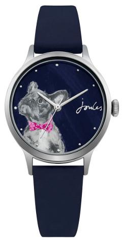 日本未発売 Joules JSL010U ジュールズ ウォッチ 腕時計 レディース 犬 アニマル ネイビー