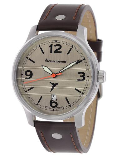 【送料無料】Messerschmitt by Aristo メッサーシュミット by アリスト ウォッチ レザーベルト 腕時計 メンズ M-18-1