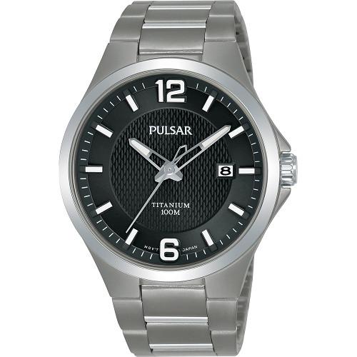 SEIKO セイコー PULSAR PS9613X1 パルサー チタン メンズ ウォッチ 腕時計 時計【送料無料】【代引手数料無料】【ベルト調整無料】【smtb-KD】