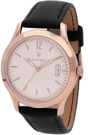 Maserati マセラティ R8851125002 時計 メンズ ウォッチ 腕時計 3針 カーブランド ローズゴールド