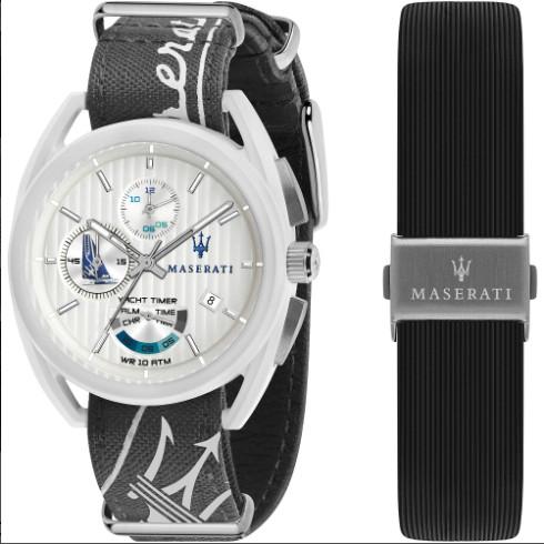 日本未発売 Maserati マセラティ R8851132002 ヨットタイマー アラーム クロノグラフ メンズ ウォッチ 時計 カーブランド