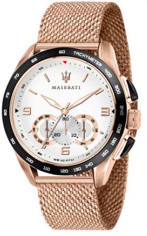 イタリア Maserati マセラティ R8873612011 時計 メンズ ウォッチ 腕時計 クロノグラフ ローズゴールド カーブランド