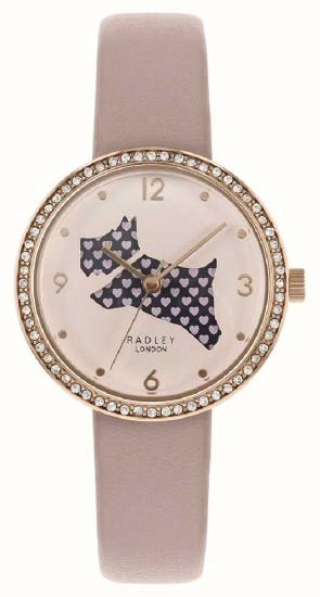 【ベルト調整無料】日本未発売 Radley London RY2806 ラドリー ロンドン ウォッチ 腕時計 レディース 犬 アニマル【送料無料】【代引手数料無料】