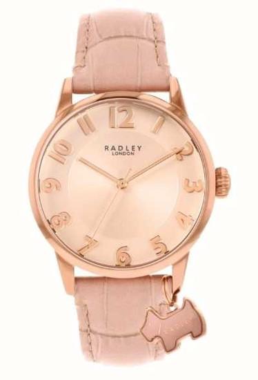 【ベルト調整無料】日本未発売 Radley London RY2872 ラドリー ロンドン ウォッチ 腕時計 レディース 犬 アニマル【送料無料】【代引手数料無料】