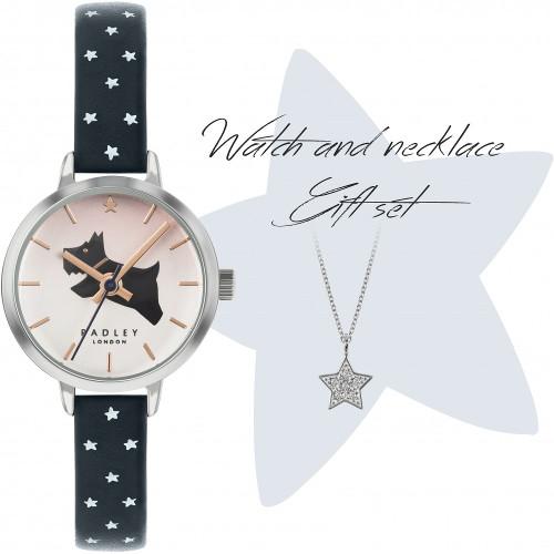 日本未発売 Radley London RY2909A-SET ラドリー ロンドン ウォッチ ネックレス セット 腕時計 レディース 犬 アニマル【送料無料】