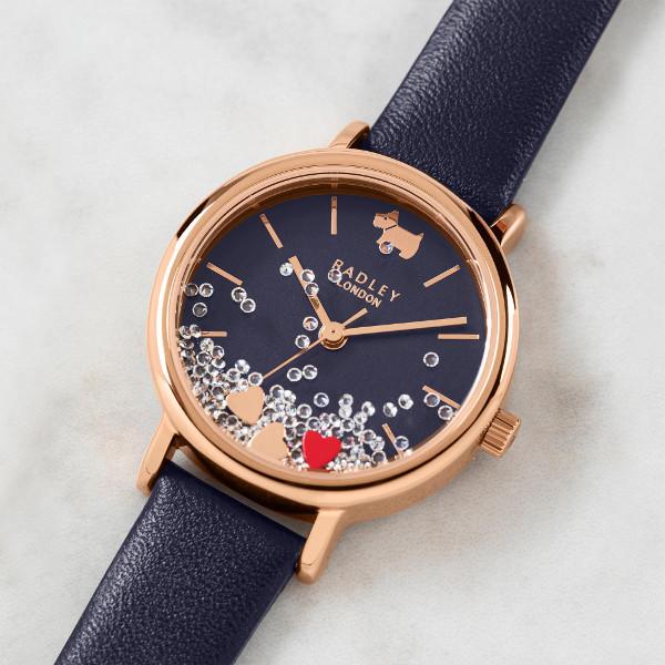 日本未発売 Radley London RY2990 ラドリー ロンドン テリア 犬 アニマル ウォッチ 腕時計 レディース