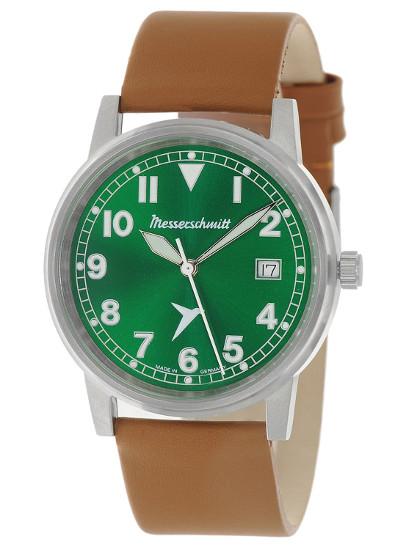 【送料無料】Messerschmitt by Aristo メッサーシュミット by アリスト ウォッチ レザーベルト 腕時計 メンズ ME-9673-02