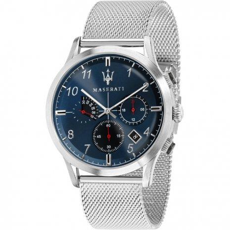 日本未発売 イタリア Maserati マセラティ R8873625003 時計 メンズ ウォッチ 腕時計 クロノグラフ カーブランド 【送料無料】【ベルト調整無料】【smtb-KD】