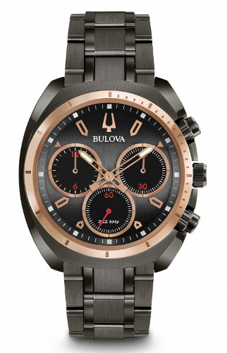 BULOVA 98A158 ブローバ メンズ クロノグラフ ウォッチ 腕時計 時計 ハイパフォーマンスクォーツ【送料無料】【手数料無料】