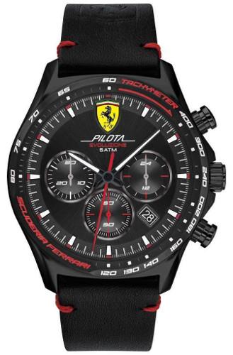 Ferrari 0830712 PILOTA フェラーリ クロノグラフ 時計 オフィシャル メンズ ウォッチ 【送料無料】【代引手数料無料】