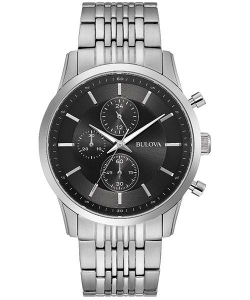 BULOVA 96A241 ブローバ メンズ クロノグラフ ウォッチ 腕時計 時計【送料無料】【代引手数料無料】【ベルト調整無料】